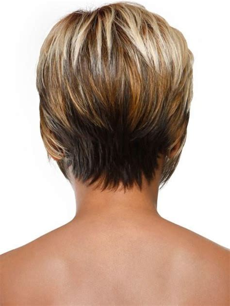 show front back short hair styles stacked bob by sherri shepherd wigoutlet com wigs com