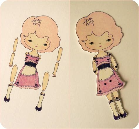 Paper Doll For - gingermelon dolls paper doll giveaway