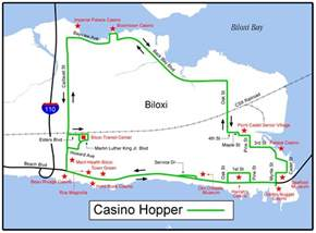 casino in map casino hopper
