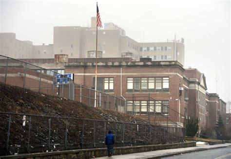 bridgeport hospital can be seen just beyond harding high