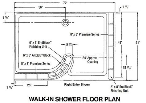 bathroom floor plans with walk in shower glass block shower walk in floor plan bathroom remodel