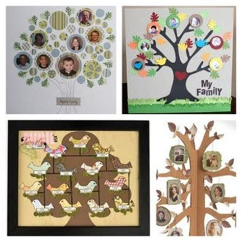 family tree craft project toddlerbrain family tree craft ideas