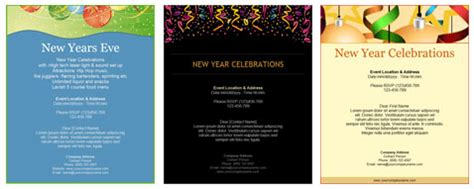 new years menu template new year menu template images