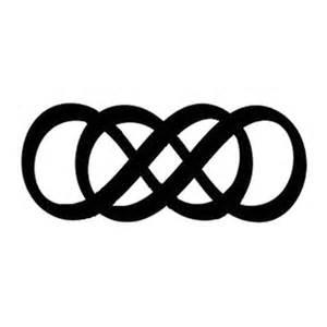 Opposite Of Infinity Best 25 Infinity Tattoos Ideas On