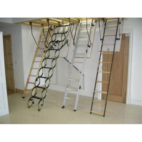 Ladders For High Ceilings by Attic Stairs Concertina Attic Stairs Loft Ladders For High Ceilings Noir Vilaine