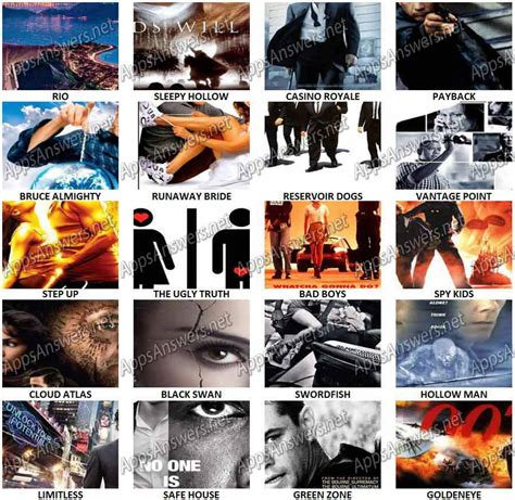 film posters for quiz 100 pix quiz poster peek level 61 level 80 answers