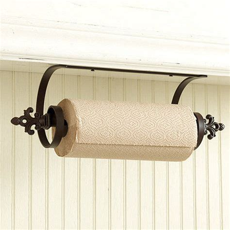 the cabinet paper towel holder 1000 ideas about paper towel holders on