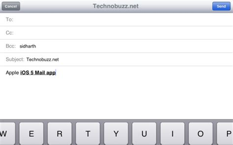 format email on iphone use text formatting flag email manage mailbox on ipad