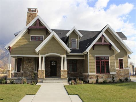 popular exterior house colors porch designs for ranch homes with stones pictures