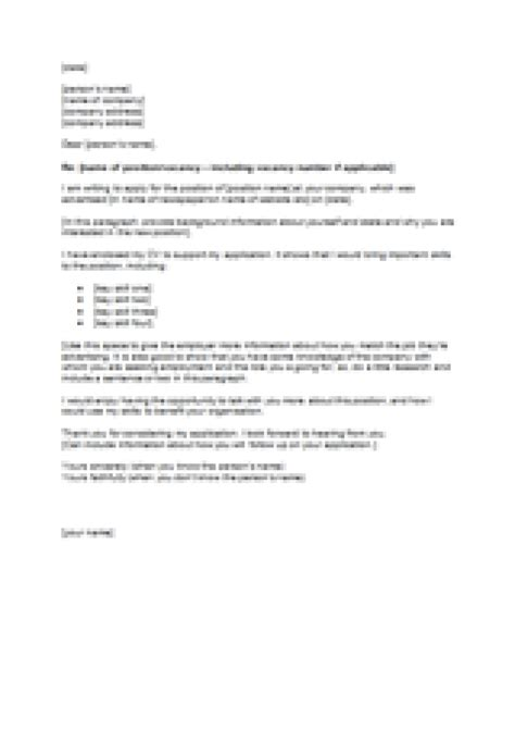 Cover Letter Template Nz by Writing Cv Nz