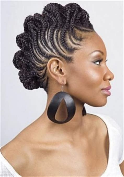 African Fish Style Bolla Hairstyle With Braids | 1000 images about natural black hairstyles on pinterest