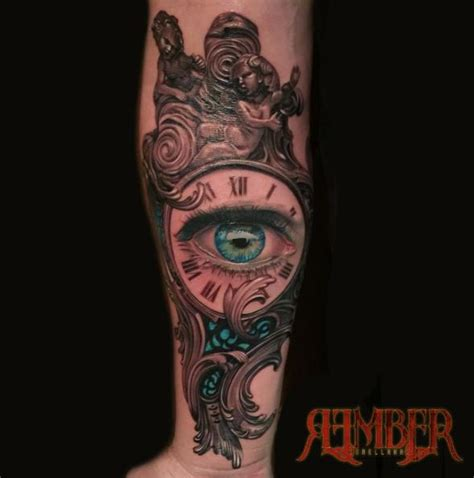 dark ages tattoo age studio tattoos rember blue eye with