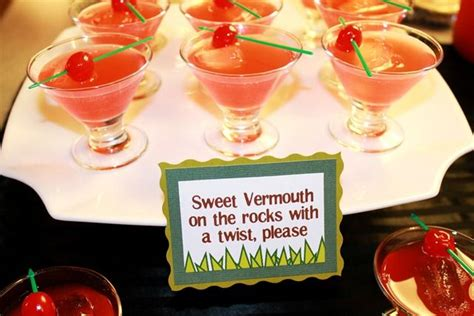 groundhog day vermouth sweet vermouth on the rocks with a twist and other