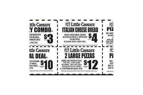 little caesars coupons july 2018