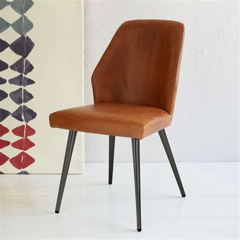 leather dining chair sets west elm