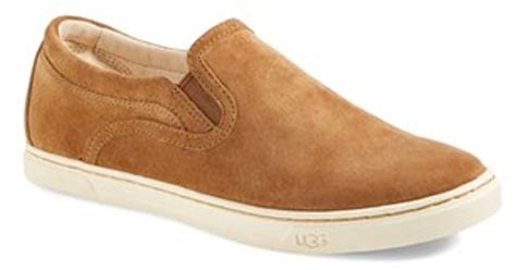 ugg fierce water resistant suede slip on sneaker