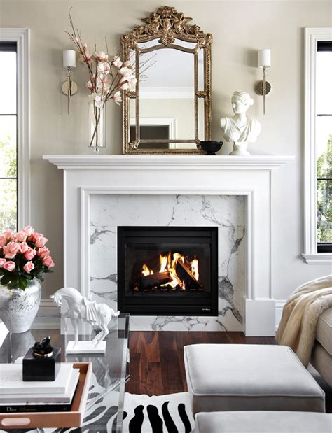 fireplace home decor 20 lovely living rooms with fireplaces
