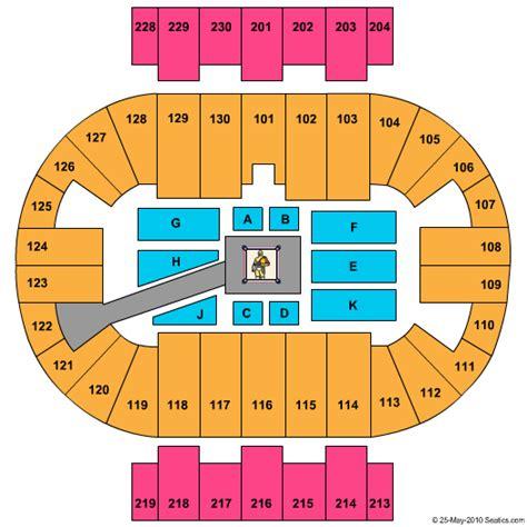 pensacola bay center seating pensacola bay center tickets pensacola fl pensacola bay