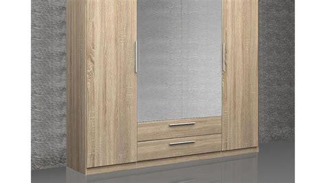 Kleiderschrank 200 Cm by Kleiderschrank Cadixo Schrank Sonoma Eiche Spiegel 200 Cm