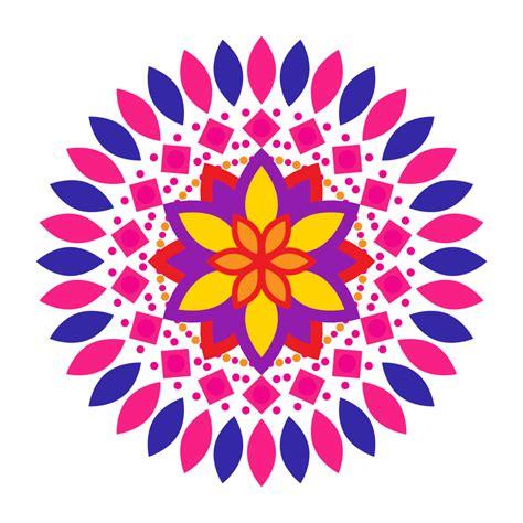 design clipart design clipart rangoli pencil and in color design