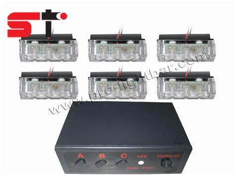 truck strobe light kits car grille warning light kits truck strobe light kits