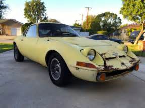 1973 Opel Gt by 1973 Opel Gt W Parts Lot For Sale Photos Technical