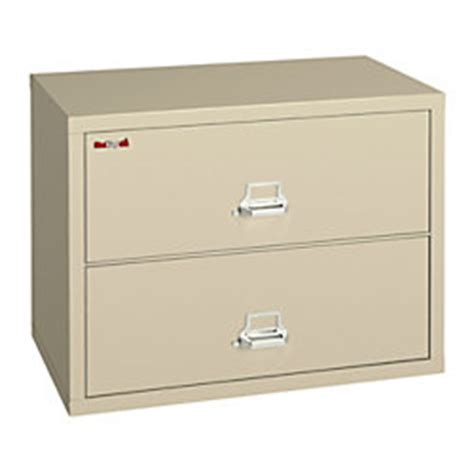 king fireproof lateral file cabinet 2 drawers 27 34 h