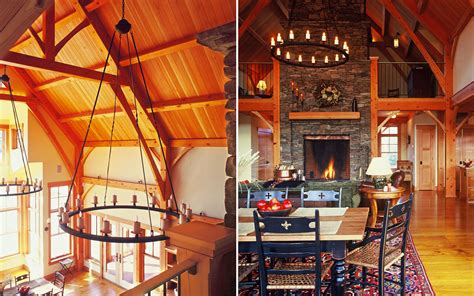 mountain homes interiors interiors timber frame mountain home truexcullins