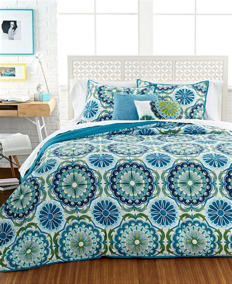 macys teen bedding dahlia 5 piece comforter and duvet cover sets teen