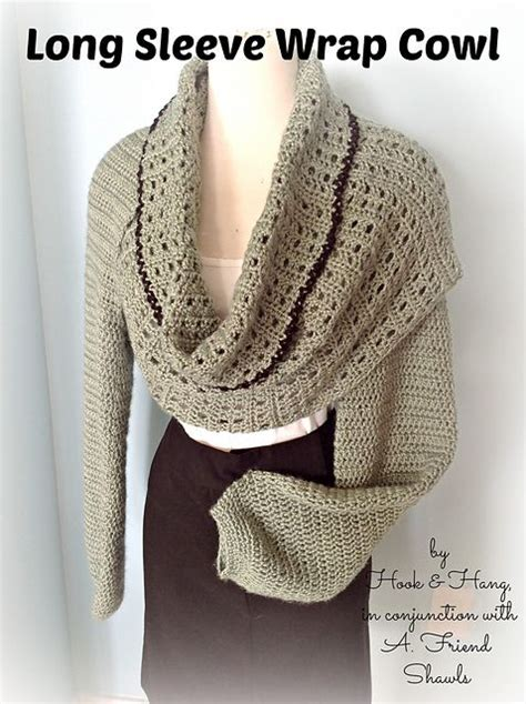 free knitting patterns shawl with sleeves 17 best images about crochet scarf cowl patterns on