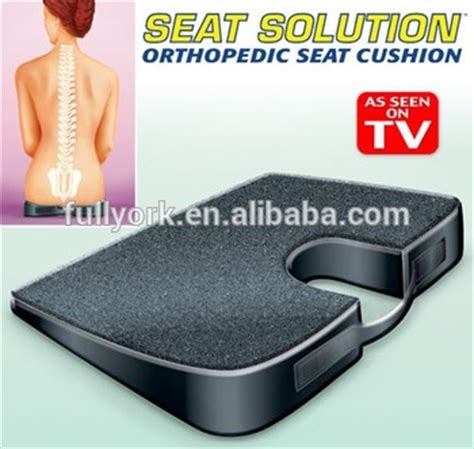 Cushion Support As Seen On Tv by Seat Solution As Seen On Tv Seat Cushion Back Support