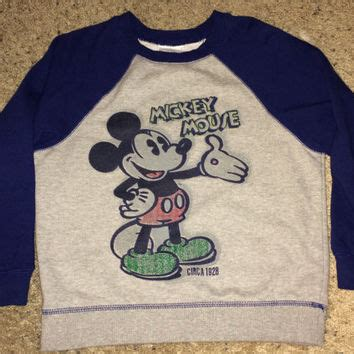 Mickey Sweater Mo T1310 2 best vintage mickey mouse sweater products on wanelo