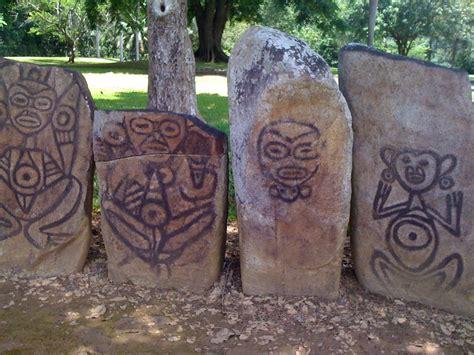 los indios tainos de puerto rico kuka petroglifos en el batey caguana utuado pr