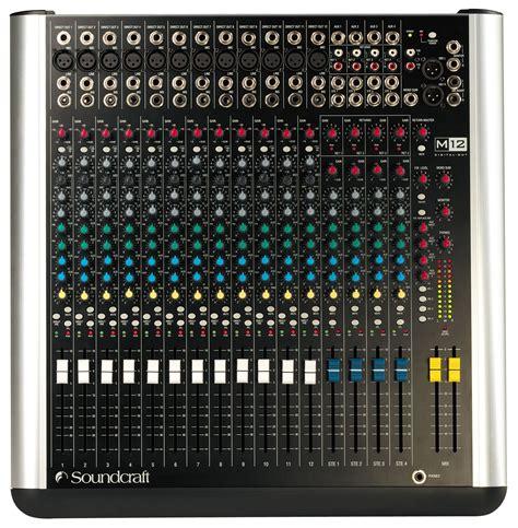 Mixer Audio Soundcraft m series soundcraft professional audio mixers