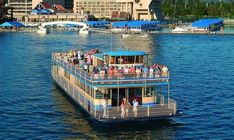 pontoon boats for sale cda book coeur d alene cruises enjoy sightseeing on lake