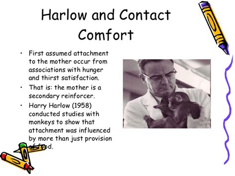 contact comfort psychology attachment cont d