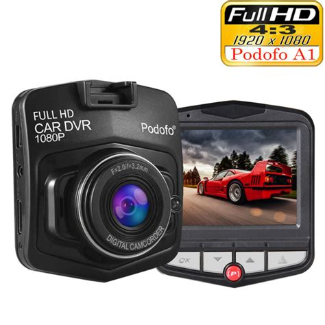 Car Recorder Mini Car Dvr Dashcam Vision original podofo a1 mini car dvr dashcam hd 1080p registrator recorder g sensor