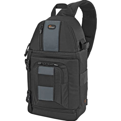 lowepro slingshot 202 aw camera bag lp36173 b h photo video
