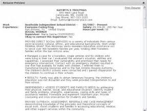 Usa Jobs Resume Builder by Federal Resume Sample And Format The Resume Place