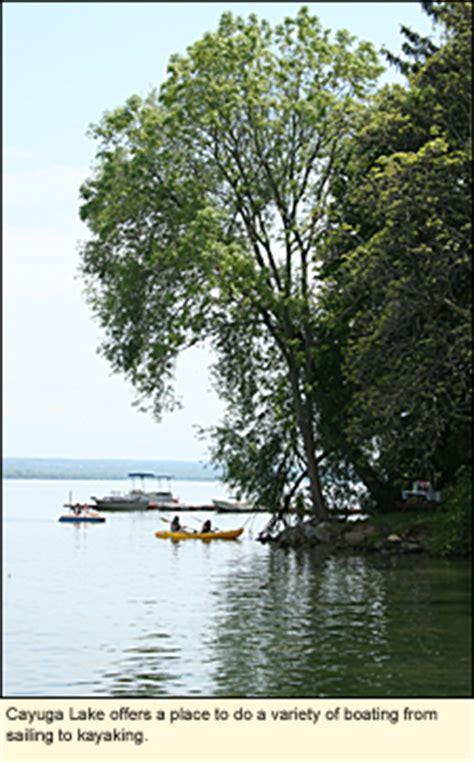 boat launch cayuga lake finger lakes new york state parks seneca county