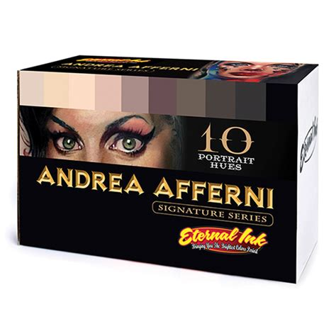 eternal tattoo ink sets andrea afferni portrait set