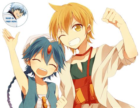 alibaba x aladdin magi alibaba and aladdin render by kaisernazrin on