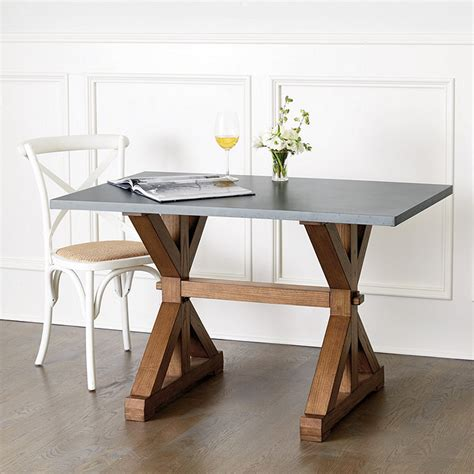 Ballard Designs Dining Table Tatum 48 Quot Trestle Dining Table Ballard Designs