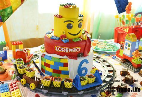 tutorial mattoncini lego in pasta di zucchero torta compleanno lego uncinetto