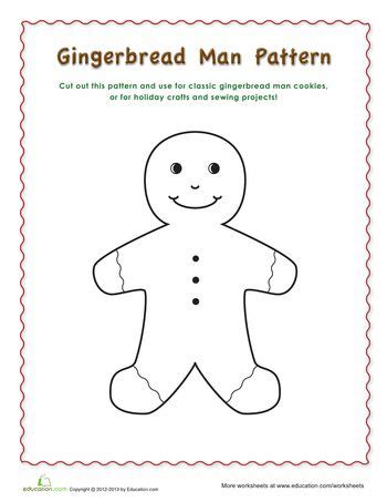 gingerbread man printable pdf 86 best gingerbread man images on pinterest christmas