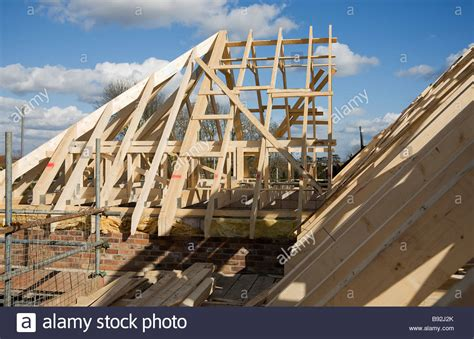 Hip End The Hip End Now Joined To Attic Trusses In The Course Of