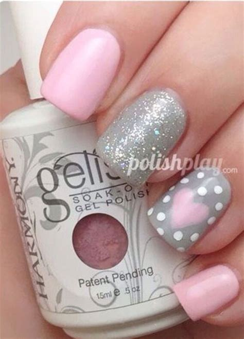s day nail ideas 15 easy valentine s day nail designs ideas