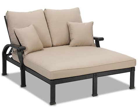double chaise patio outdoor double chaise lounge the clayton design double