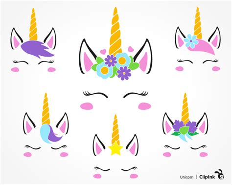 free printable clip free printable unicorn clipart free images at clker