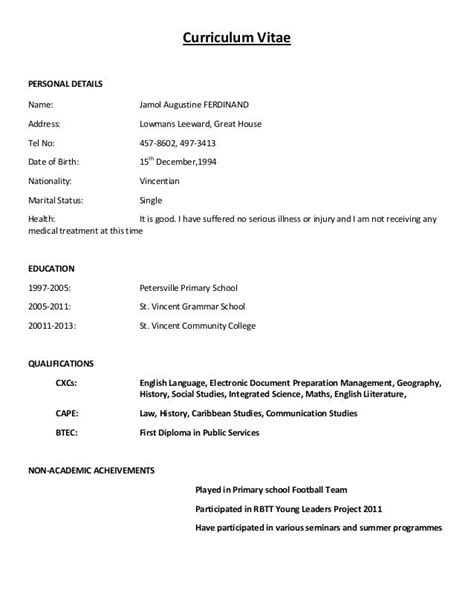 sample of resume for job sample resume with professional title for